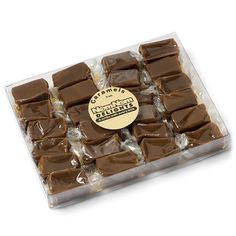 Fleur De Sel Sea Salt Caramels : Gourmet Food Candy | 24 Pieces Individually Wrapped | Handmade with Real Butter by NomNom Delights *** Review more details here : Fresh Groceries