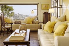 Living room design tips. What you place on your mantle provide a balanced look. A mantle which is unbalanced could affect the whole look of any room. Living Room Remodel, My Living Room, Living Room Interior, Home And Living, Living Room Decor, Living Spaces, Living Area, Yellow Interior, Coastal Interior