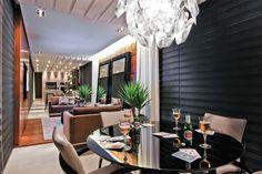 17 salas grandes integradas com cozinha, sala de jantar e até garagem - Casa