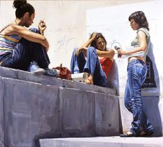 Paintings by Michele Del Campo