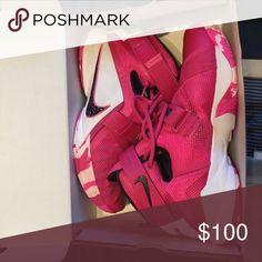 Nike Lebrun Basketball Shoes Nike (Breast Cancer Awareness) Basketball shoes Nike Shoes Athletic Shoes