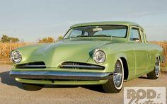 1953 Studebaker Champion Starlight Coupe Headlights