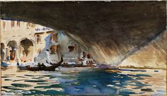 'What [Sargent] took to instead — watercolor — sounds counterintuitive. You might think he'd have set himself some project grand enough to eclipse his public identification with the genre he had come to despise. But the modest medium turned out to be a fruitful choice' - Ken Johnson, NYT.