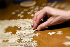 In an escape room, expect to solve jigsaw puzzles with up to 12 pieces, not 512 pieces (whew).
