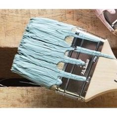 Blue green furniture paint color. MudPaint Vintage Furniture Paint Seaside color is a muted bluish green color that gives any piece a beachy look! Buy now!