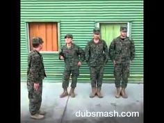 Roberto to to to en tono militar - YouTube