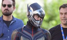 """Evangeline Lilly Suits Up as The Wasp on Set of """"Ant-Man and the Wasp"""""""