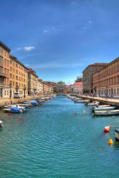 Trieste, Italy -- where I would have no choice but to kayak_all the time!