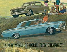 1962 Chevrolet Impala and Chevy II Nova Sports Coupe