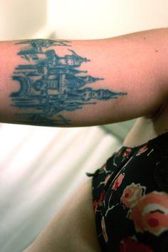 #Disney #Castle #tattoos