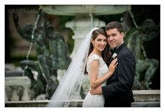 The Elms, Mansion, Fountain, Newport,  © Snap Weddings