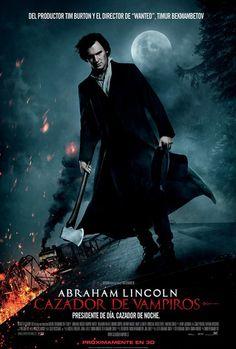 ¡Nuevo Póster y tráiler para 'Abraham Lincoln: Cazador de Vampiros'!