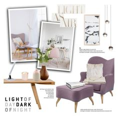 """""""Light of day"""" by helenevlacho ❤ liked on Polyvore featuring interior, interiors, interior design, home, home decor, interior decorating, DwellStudio, Gubi, a&R and OKA"""