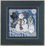 Buttons & Beads Winter 2010 Series - Frosty Snowman