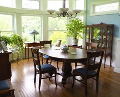 Sunny and eco-friendly dining room tour - Plaster & Disaster