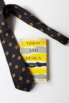 Vintage Book & Neck Tie Vision and Design by PomegranateVintage, $24.99