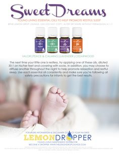 Do you or your kids struggle with #Sleep? Check out this combination of all natural essential oils!