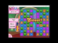 Candy Crush Saga- Level 16 Completed.  Score:224,960. 2 Stars