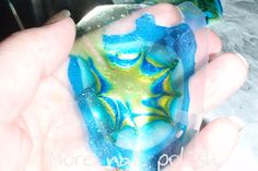 dry water marbling decals ~ More Nail Polish