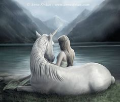 Unicorns by Anne Stokes Wall Calendar 2019 Art Calendar Flame Tree Studio Books Epub Unicorn And Fairies, Unicorn Fantasy, Unicorns And Mermaids, Unicorn Art, Anne Stokes, Beautiful Fantasy Art, Dark Fantasy Art, Fantasy Artwork, Magical Creatures