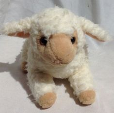 GANZ Little Lamb Choice Plush Baby Lovey Stuffed Animal Toy Lambie Sheep for sale online Sheep For Sale, Baby Lovey, Pet Toys, Lamb, Plush, Teddy Bear, Stuffed Toy, Thesis, Animals
