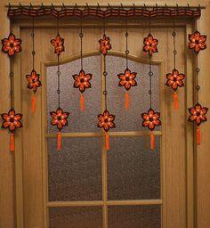 Bright Curtains, Retro Curtains, Orange Curtains, Bohemian Curtains, Vintage Curtains, Home Curtains, Colorful Curtains, Beaded Curtains Doorway, Doorway Curtain