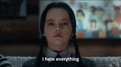 And finally, when she said the truest thing that's ever been said. | 17 Times Wednesday Addams Truly Understood Your Ice-Cold Heart