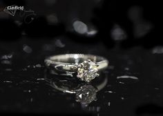 Gorgeous classic solitaire made by in Nundah Village North Brisbane Fine Jewelry, Jewelry Making, Jewellery, Brisbane, Diamond Engagement Rings, Wedding Rings, Jewels, Classic, Derby