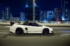 NSX on the street