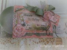 HAPPY BIRTHDAY TO YOU ~Scraps of Elegance~ Rue des Rosiers October 2013 Kit - Scrapbook.com