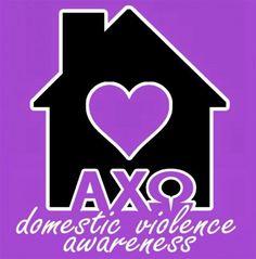 Alpha Chi Omega and Domestic Violence Awareness