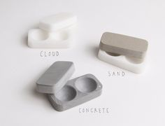 MOON Contact Case - No screwing on lids & easy to clean! want.