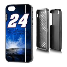 Chase Elliott 24 Rugged Number Design Apple iPhone 5/5S Rugged Case by Keyscaper