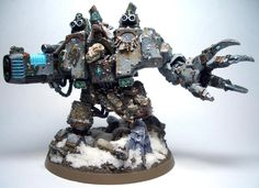 40k - Space Wolves Venerable Dreadnought - bjorn the fellhanded, by the looks