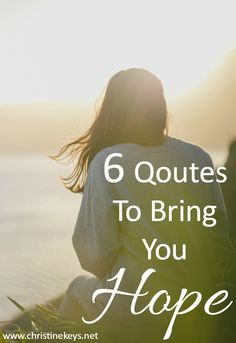 6 Quotes To Bring You Hope | Words of Encouragement Peace Bible Verse, Bible Verses About Faith, May Themes, Faith In God, Strong Faith, Adverse Childhood Experiences, Tips To Be Happy, Peace And Security, Mental Health And Wellbeing
