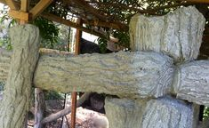 The Faux Bois Concrete Restoration Project at The Huntington Library, Art Collections, and Botanical Gardens by Terry Eagan Artificial Rocks, Fake Stone, Huntington Library, Concrete Sculpture, Faux Painting, Botanical Gardens, Restoration, Library Art, Cement