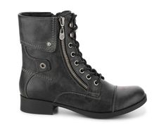 G by GUESS Banks Combat Boot Women's Shoes   DSW