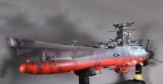 バンダイ プラモデル 宇宙戦艦ヤマト 1/350 戦闘版塗装 特別仕様ガレージキット製作代行組み立てペイント仕上げ見本