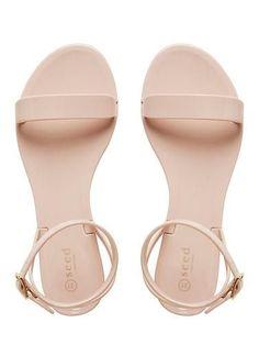 S U N N Y K E L S S Womens Shoes   Tessa Strap Jelly Sandal   Seed Heritage