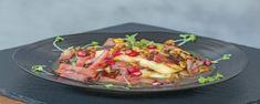 Καραμελωμένο χαλούμι Halloumi, Guacamole, Potato Salad, Tacos, Potatoes, Mexican, Chicken, Meat, Ethnic Recipes