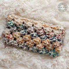 Puffed Crochet Headband by Rescued Paw Designs