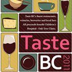 Taste BC 2011 Event Contest | Vancouverscape