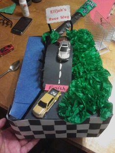 Street racing shoebox float
