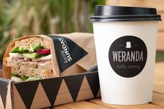 Weranda Take Away, Poznan – Poland. Time for lunch #packaging PD