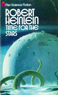 retroreverbs: Time for the Stars by Robert Heinlein (Pan 1978 edition). Sci Fi Authors, Sci Fi Novels, Pulp Fiction Book, Science Fiction Books, Book Cover Art, Comic Book Covers, Book Art, Classic Sci Fi Books, 70s Sci Fi Art