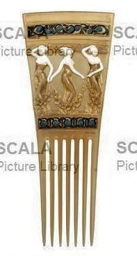 Lalique angels hair comb scala archives