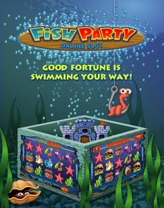 Fish Party Online Slot Game Party Online, Deep Blue Sea, Pinball, Some Fun, Toy Chest, Slot, Swimming, Fish, Games