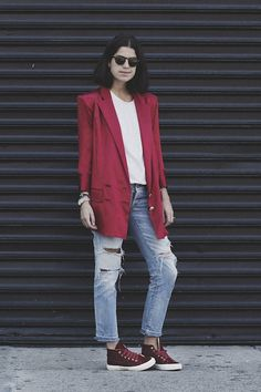 The Man Repeller x Superga: Die New Yorker Bloggerin Leandra Medine entwirft Schuhe
