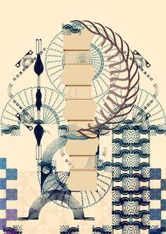 Cristian Boian / abstract Ω illustrations on Behance
