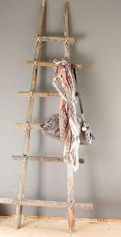 21 ideas para decorar con ramas y troncos de madera / 21 ideas for decorating with wood logs